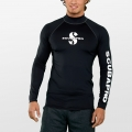 Scubapro BLACK Rash Guard Langarm Herren UPF50 - UV Shirt