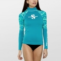 Scubapro CARIBBEAN Rash Guard Langarm Damen UPF50 - UV Shirt